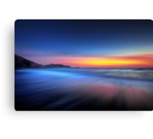 Twilight Waves Canvas Print
