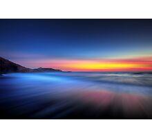 Twilight Waves Photographic Print
