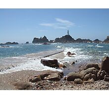 Corbiere Point, Jersey.Channel Islands Photographic Print