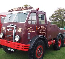 Foden. 6 Wheeler Timber Tractor by Dizzy-t
