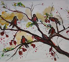 ROBINS FALL FEASTING by eoconnor