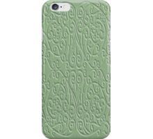 Wrought Inspiration Green Glass iPhone Case/Skin