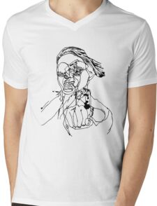Baboonery #1 Mens V-Neck T-Shirt