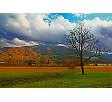 CLEARING STORM,CADES COVE Photographic Print