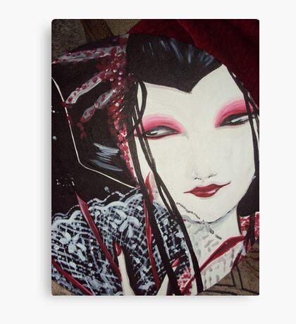 Gothic Geisha Canvas Print