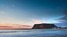 Sunrise at The Nut, Stanley, Tasmania by Jim Lovell