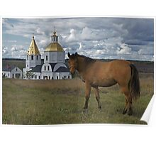 Russian landscape Poster