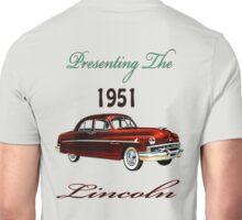 1951 Lincoln Unisex T-Shirt