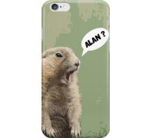 Meerkat - Shouting Alan  iPhone Case/Skin