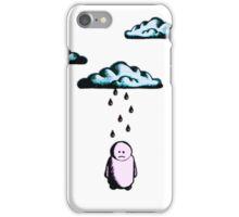 Sad Man & Rain Cloud - iPhone Version iPhone Case/Skin