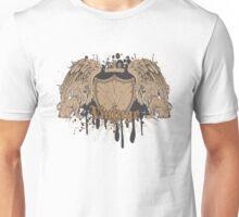 Vintage Crest Shield Heraldry VI Unisex T-Shirt