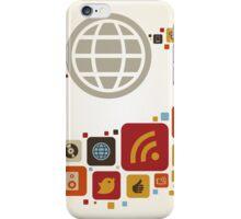 Global world7 iPhone Case/Skin