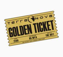 Terra Nova Golden Ticket Kids Tee