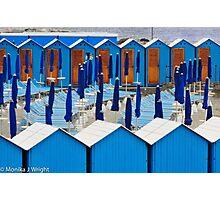Beach Blues Photographic Print