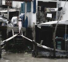 Vietnam: On the Catwalk by Kasia-D