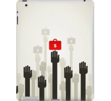Hand business5 iPad Case/Skin