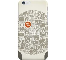 Hand business6 iPhone Case/Skin