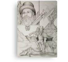 Dwarf Hunter Canvas Print
