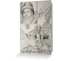 Dwarf Hunter Greeting Card