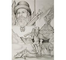 Dwarf Hunter Photographic Print
