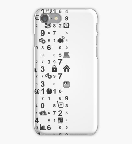 Information technologies iPhone Case/Skin
