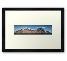 Eystrahorn Mountain Framed Print
