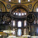 Interior View Of Aya Sofya by Patricia127