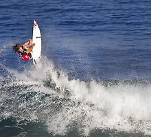 Matt Wilkinson 2 at 2010 Billabong Pipe Masters In Memory Of Andy Irons by Alex Preiss