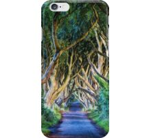 The Dark Hedges (Art Edit) iPhone Case/Skin