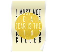 The Litany Against Fear Poster