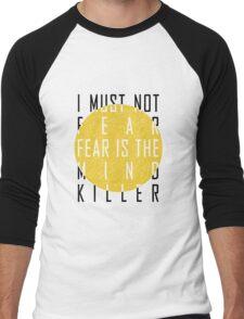 Dune - The Litany Against Fear Men's Baseball ¾ T-Shirt