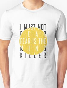 The Litany Against Fear T-Shirt