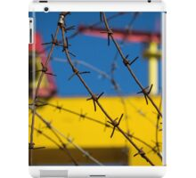 Shipbuilding and Barbed Wire iPad Case/Skin