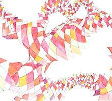 Geometric landscapes by BellaBark