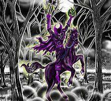 """""""Return Of Hollow's Horseman"""" by Steve Farr"""
