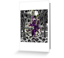 """Return Of Hollow's Horseman"" Greeting Card"