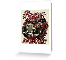 Classics around Dorset 2015 Greeting Card