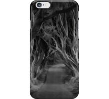 Dark Hedges iPhone Case/Skin
