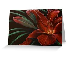 Day Lilly Greeting Card