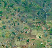 Looking Down on South Sudan by Jessica  Page