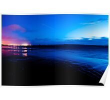 Ardrossan by Night Poster