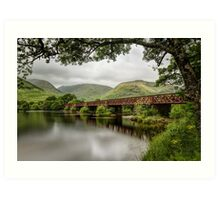 Kilchurn Railway Bridge Art Print