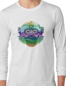 MONKEY COLLECTION DEGRADE RAINBOW Long Sleeve T-Shirt