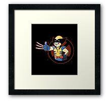 X- Boy Framed Print