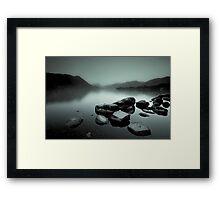 Ullswater Mist Framed Print