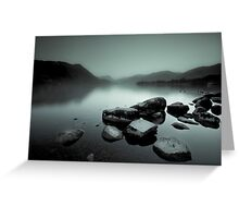Ullswater Mist Greeting Card