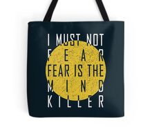 Dune - The Litany Against Fear (White) Tote Bag