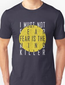 The Litany Against Fear (White) T-Shirt