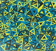 Cool Abstract Print - Geometry Pattern by senega