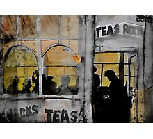 the tea room Photographic Print